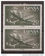 ES1169-LA969TSC.Spain Espagne.AVION.BARCO.SUPER-CONSTELLATION Y NAO SANTA MARIA 1955/56.(Ed. 1169**) - Sin Clasificación