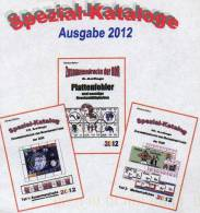 RICHTER DDR Plattenfehler+Zusammendrucke+Heftchen 2012 Neu 79€ Teil1+2+A Se-tenant Bf Error Special Catalogue Of Germany - Alte Papiere