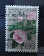 1969 Algeria Flowers,bloemen,fleurs,rose Used/gebruikt/oblitere - Algerije (1962-...)