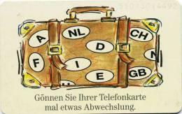 Deutschland - PD 2  95 - 12 DM - Gönnen Sie Ihrer Telefonkarte Mal Etwas Abwechslung - Seriennr. 5501.... -used - Allemagne