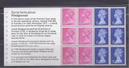 GreatBritain1972: WEDGWOOD Michel HBlatt74mnh** (Cat.Value28Euros) - Carnets