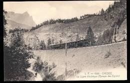 74 PASSY  /   CHEDDE  La Ligne électrique Rampe Des  Egratz  / - Passy