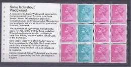 GreatBritain1972: WEDGWOOD Michel HBlatt75mnh** (Cat.Value34Euros) - Carnets