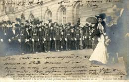 Les Journées Italiennes 14-18 Octobre 1903 - Visite Versailles - Manifestazioni