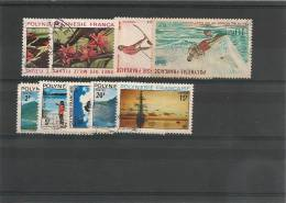 POLYNÉSIE  Années 1971/72 Oblitérés       Côte 18,90 € - Polinesia Francese