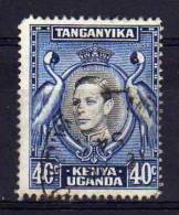 Kenya Uganda Tanganyika - 1952 - 40 Cents Definitive - Used - Kenya, Uganda & Tanganyika