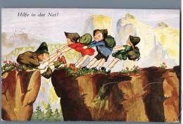 Kids In The Mountains - Hilfe In Der Not - Austria 1930s - Kinder