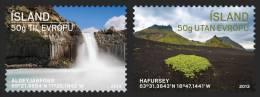 ISLANDE 2013 - Tourisme, Paysages - 2v Neufs // Mnh - 1944-... Republique