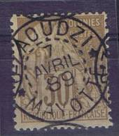 Colonies General: Yv  55 Mayotte , Maury Cat Valeur € 350, Very Nice Cancel.