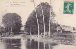 CPA - 27 - LE VAUDREUIL - L'eure Et L'allée De L'ancien Château - 1214 - Le Vaudreuil