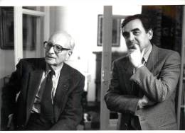 Photo De Presse - Ref: 055. Bernard Pivot Et Levi Strauss - Apostrophes - Célébrités