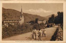 Depts Divers - Ariege -ref E915-environs D Ax Les Thermes -l Eglise Et Chateau De Savignac  - Carte Bon Etat - - France