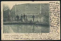 Pozdrav Iz Varazdinskih Toplica. Konstantinova Kupelj. - Gruss Aus Warasdin Toplitz Constantinbad. -- Old Postcard - Kroatien