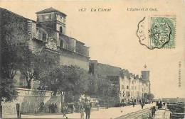 Depts Divers -bouches Du Rhone  -ref E870- La Ciotat - L Eglise Et Le Quai   -carte Bon Etat- - La Ciotat