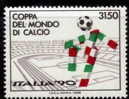 ITALIE   N °   1782 * *   ( Cote 6.50e)  Cup  1990  Fussball  Soccer   Football - Coupe Du Monde
