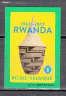 2012 - 4240 - Rwanda - No Dentado