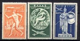Grecia 1954 Unif. A66/68 MNH/** VF - Nuovi