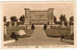 Nieuwpoort, Nieuport Gedenkteeken An Wulpen (pk8493) - Nieuwpoort