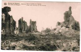 Nieuwpoort, Nieuport, Ruines 1914-18 Tour Et Entrée De L'Eglise (pk8498) - Nieuwpoort