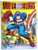 RARE ALBUM AGE 1981 SUPER HEROS - COMPLET - pas Panini
