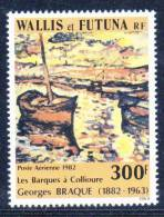 WALLIS ET FUTUNA - P.A N° 115 **  (1982) Tableau : G.Braque - Unused Stamps