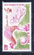 WALLIS ET FUTUNA - P.A N° 116 **  (1982) Football - Unused Stamps