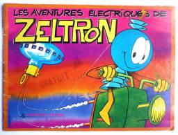 RARE ALBUM PANINI 1980 ZELTRON incomplet