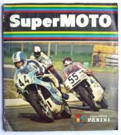 RARE ALBUM PANINI 1980 SUPER MOTO incomplet