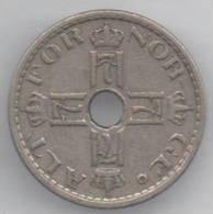 NORVEGIA 50 ORE 1926 - Norvegia