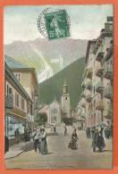S311, Chamonix, Brévent, Animée, 04, Circulée 1908 - Chamonix-Mont-Blanc