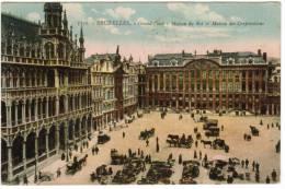 Brussel, Bruxelles, Grand'Place, Maison Du Roi Et Maison Des Corporations (pk8517) - Places, Squares