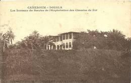 CAMEROUM  - DOUALA  LES BUREAUX DU SERVICE DE L'EXPLOITATION DES CHEMINS DE FER - Cameroun