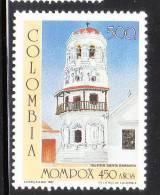 Colombia 1987 Santa Barbara Church Mompox MNH - Colombia