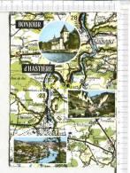 ANCIAUX - THIRAN - Bonjour D' HASTIERE -  Chalet Des Grottes - Cartographie D'après Michelin N° 4  - 3 Vues - Hastière