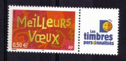 "N* 3623A (vignette ""les Timbres Personnalisés"")NEUF** - Personalized Stamps"