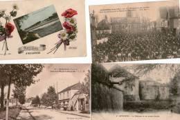 4 Cartes Postas D ' AUXONNE - Auxonne