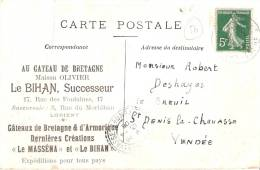 56 LORIENT Au Gateau De Bretagne (le Bihan) Pub Le Petit Poucet - Lorient