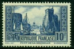 """Port De La Rochelle 1930  """"261"""" Neuf Type III - France"""