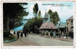 Banneux Notre Dame, La Chapelle, Les Pèlerins Pendant La Messe (pk8574) - Sprimont