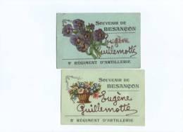 2 Cartes Souvenir De  Besancon - Besancon