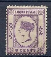 130101213  LABUAN   YVERT   Nº  34 - Nordborneo (...-1963)