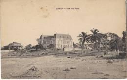 Dakar Senegal, View Of The Port, Beach(?) Scene, Buildings, C1900s/10s Vintage Postcard - Senegal