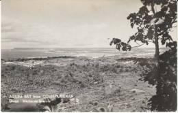 Guam, Agana Bay Seen From Com-Marianas, C1940s/50s Vintage Real Photo Postcard - Guam