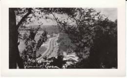 Tamuning Guam, Marine Drive, Autos Buildings, C1940s/50s Vintage Real Photo Postcard - Guam