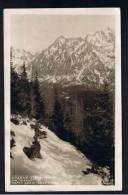 RB 916 -1927 Real Photo Slovakia Czechoslovakia Postcard - Vysoke Tatry - 1.20 Kr Rate To Hannover - Slovakia