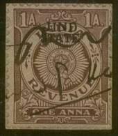 Jhind Revenue_1 Anna Violet-black_Type 20 - KM 201 - Jhind