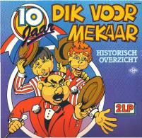 * 2LP *  10 JAAR DIK VOORMEKAAR (Historisch Overzicht) - ANDRÉ VAN DUIN - Humor, Cabaret