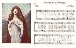 MUSIC POSTCARD - NEARER, STILL NEARER - Musica E Musicisti