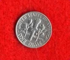ONE DIME  1968  LIBERTY     -  TRES BELLE - Emissioni Federali