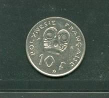 Polynésie 10 Francs 1973  - Laura6601 - Polynésie Française